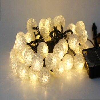 10m 100leds Waterproof Solar Garlands Outdoor Solar Lights Lamp Fairy lampada solar Christmas Party Garden Decoration Ball