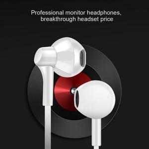 In-Ear Earphones 3 Meter Long Headphone Broadcast Live Karaoke Headset MP3 Subwoofer K Song Earphone Earplug Headset TXTB1