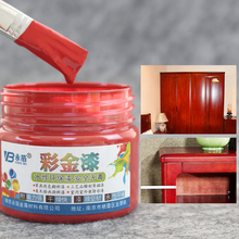 Red wine acrylic paint is water color painting Metal furniture rust corrosion brush for wood protection wholesale