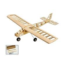 EP Balsa Wood Training Plane 1.3M Wingspan Biplane RC Airpla