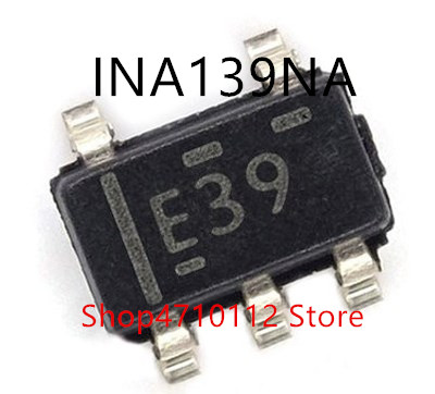 Free Shipping 10PCS/LOT NEW INA139NA INA139 MARKING E39. INA138NA INA138 MARKING E38 SOT23-5
