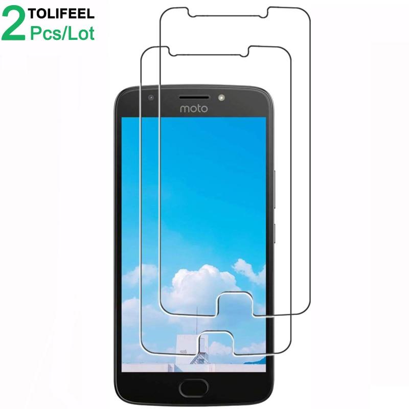 2Pcs Tempered Glass For Motorola Moto E4 Plus Screen Protector 9H 2.5D Phone Protective Glass For Moto E4 Glass Moto E4 Plus