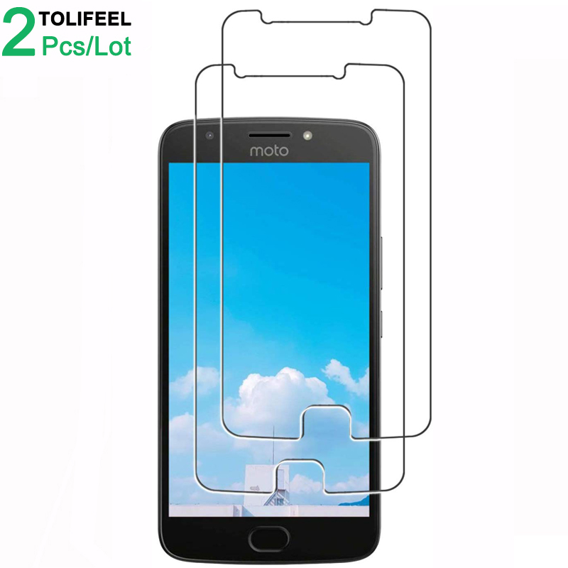 2Pcs Tempered Glass For Motorola Moto E4 Plus Screen Protector 9H 2.5D Phone Protective Glass For Moto E4 Glass Moto E4 Plus image