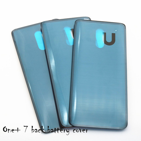 Original 3D Glass Oneplus 7  Battery Door Case Back Cover Rear Phone Housing Case For One Plus 7 Replacement Parts Multan