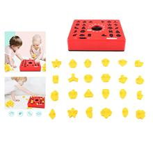 Children Fun Board Games Timing Time Matching Puzzle for Early Education Parent-Child Educational Toys for Boy Gifts
