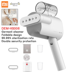 Xiaomi máquina de planchar Delmar de mano plancha de vapor eléctrica plegable portátil hogar plancha de vapor mini máquina de planchar 5