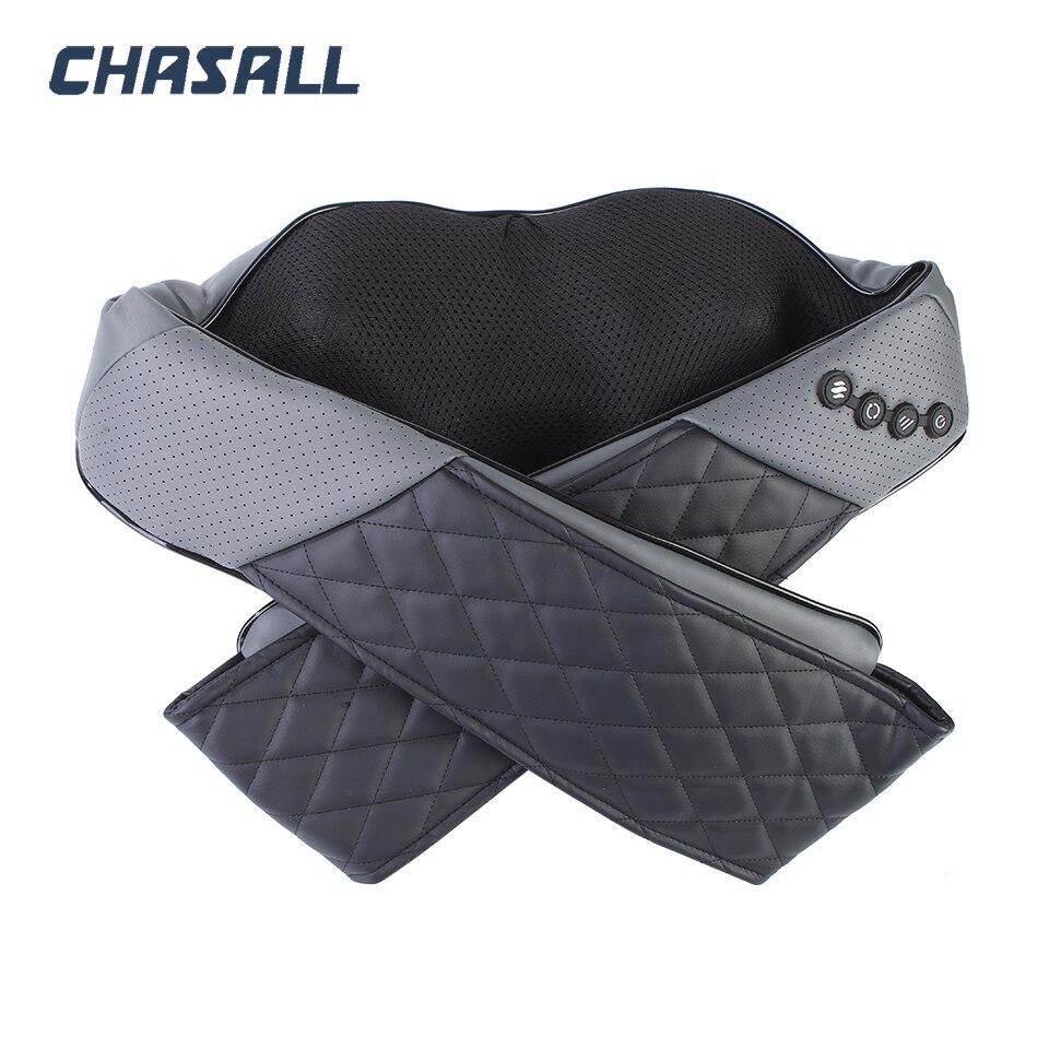 CHASALL ネック指圧ボディバック脚ショルダー電気マッサージツール健康ケア痛みリラクゼーションビッグモーターホームカーを使用  グループ上の 美容 & 健康 からの マッサージ & リラクゼーション の中 1