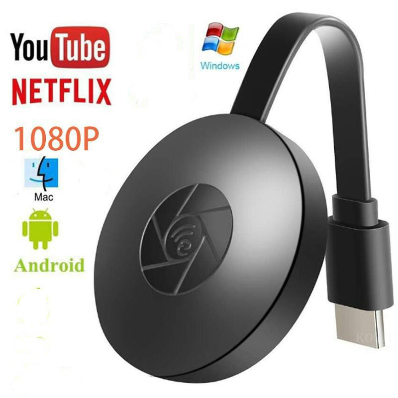 TV Stick Wireless Wifi Display Receiver HDMI 1080P Miracast Airplay Media Stream HDTV Dongle For DLAN YouTube,Netflix,