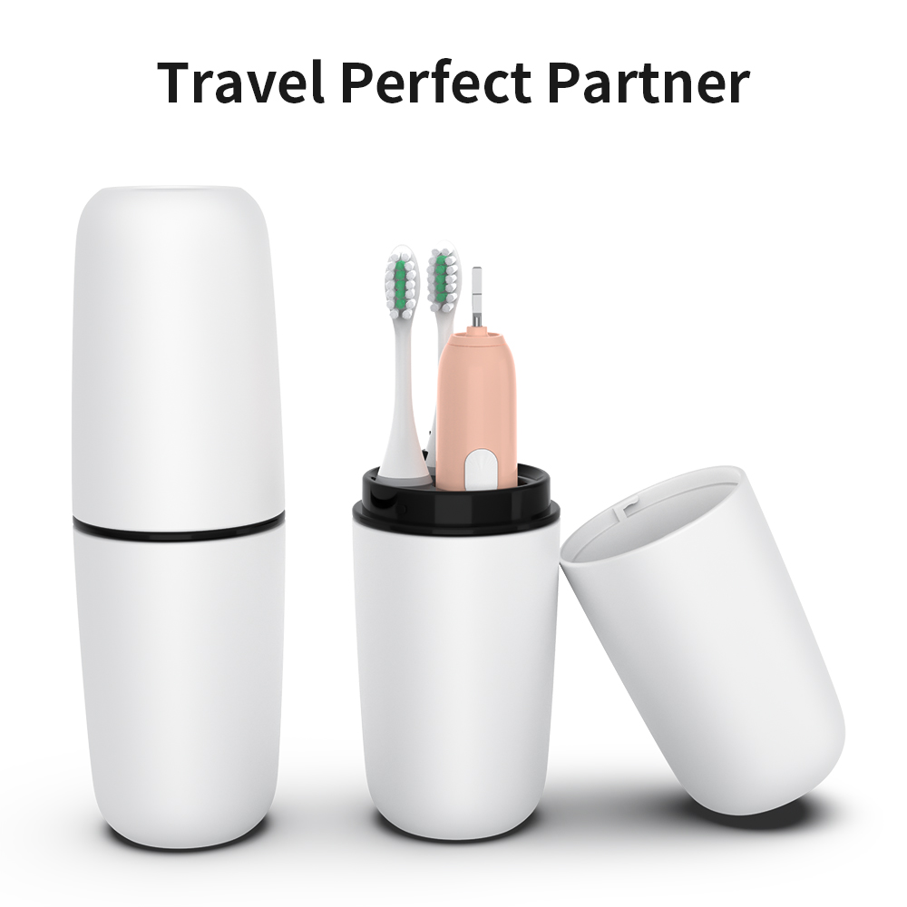 New Adult Electric Toothbrush Sonic Wave Rechargeable IPX7 Waterproof Smart Chip Teethbrush Cup Head USB Rechargeable Clear 40