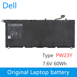 Original New Replacement Laptop battery for dell  XPS 13 9360 Series RNP72 TP1GT PW23Y   7.6V 60Wh PW23Y