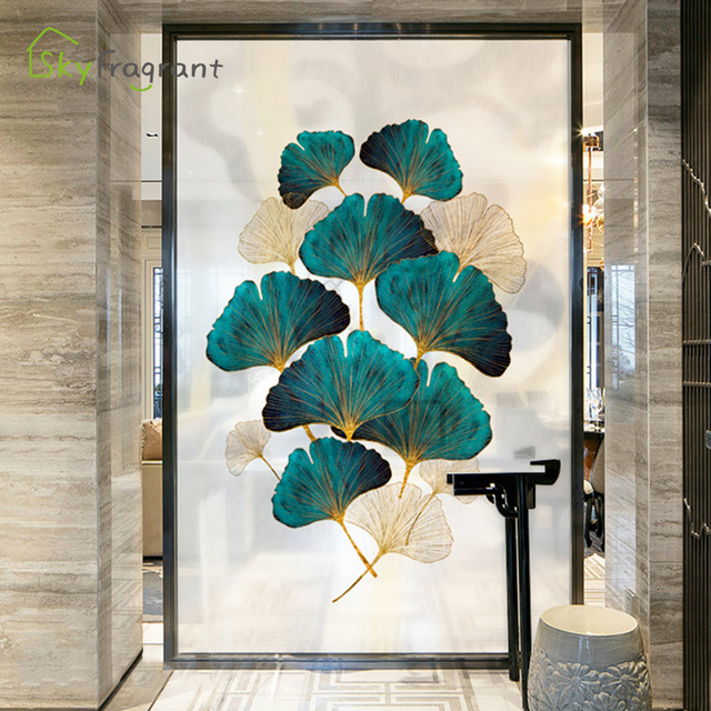 Fresh Leaves Wall Sticker Mural 8