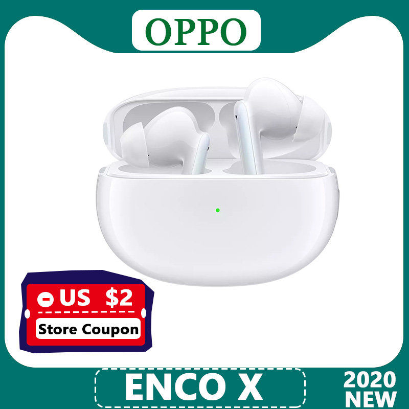 Oficjalne słuchawki OPPO Enco X TWS bezprzewodowe słuchawki Bluetooth 5.2 aktywne usuwanie szumów dla telefonu komórkowego OPPO Reno 4 Pro SE