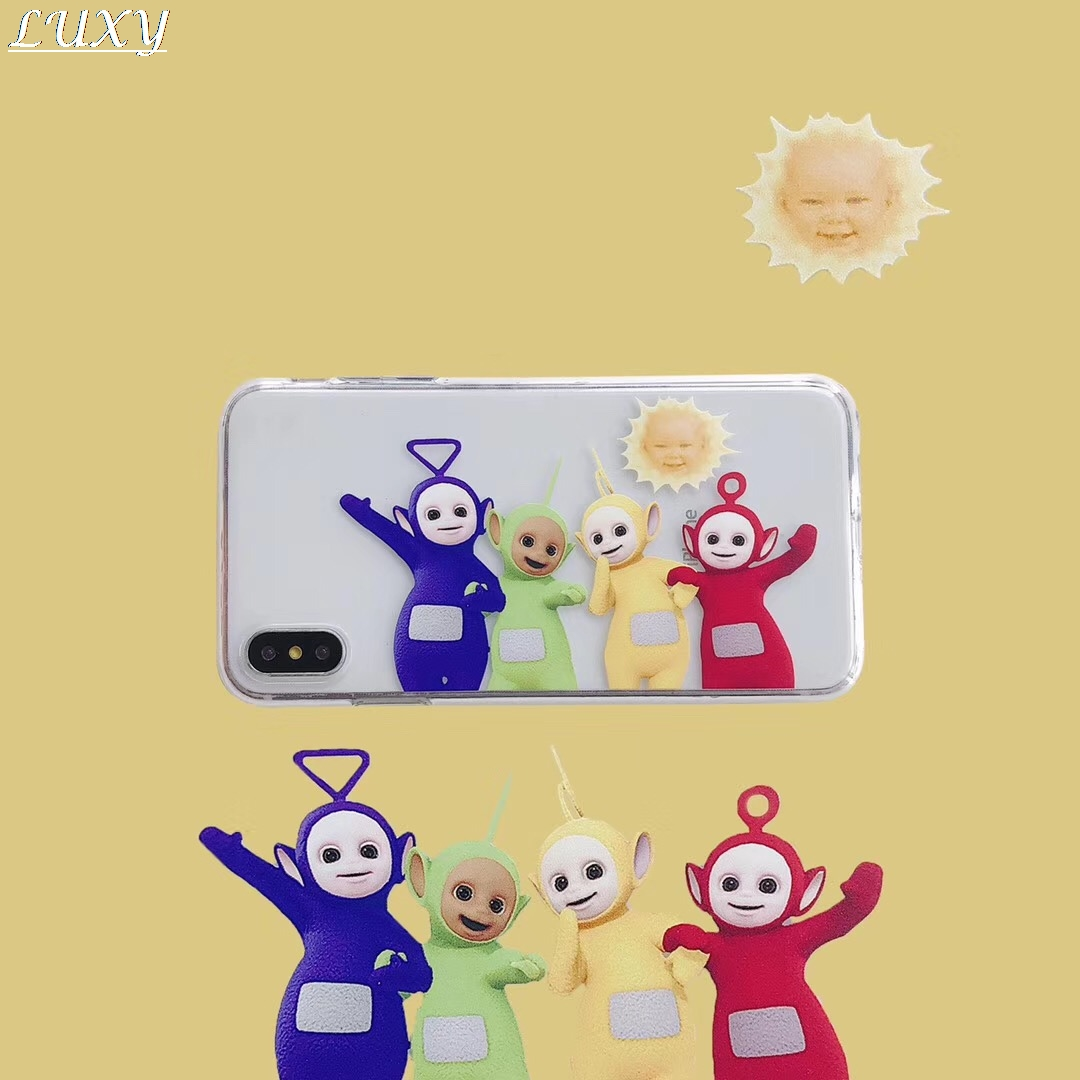 Teletubbies British baby cartoon Candy tpu Phone Case For Apple iPhone 11 PRO Max X XS XSMax 7 8 6 S Plus XR soft tpu Cover|Fitted Cases|   - AliExpress