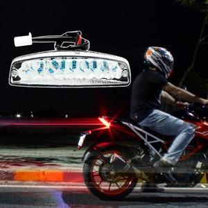 1 Pcs Universal LED Rear Brake Lights Motorcycle Tail Turn Signal Light Indicator Lamp For Yamaha Suzuki Honda ATV Quad Kart Etc(China)