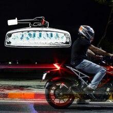 1 pçs universal led luzes de freio traseiro da motocicleta cauda turn signal luz indicadora lâmpada para yamaha suzuki honda atv quad kart etc