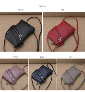 Image 2 - women shoulder messenger bags female Brand crossbody bag small purses and handbags designer ladies Genuine Leather bag