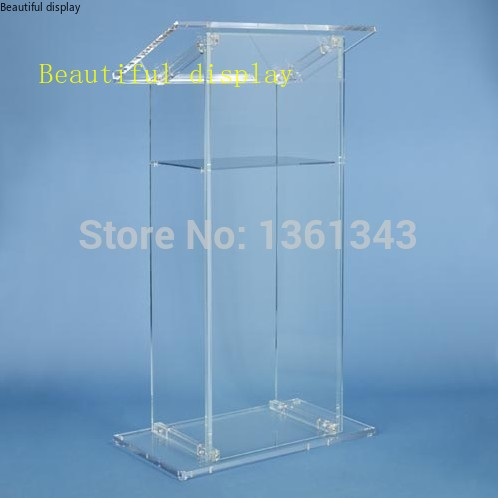 Clear Acrylic Podium/Custom .acrylic Podium Acrylic Lectern/Plexiglass Pulpit.acrylic Podium Plexiglass