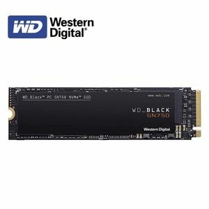 Western Digital WD Black SN750 NVMe SSD 250GB 500GB 1TB 2TB M.2 2280 NVMe PCIe Gen3*4 Internal Solid State Drive SN750 3D Nand