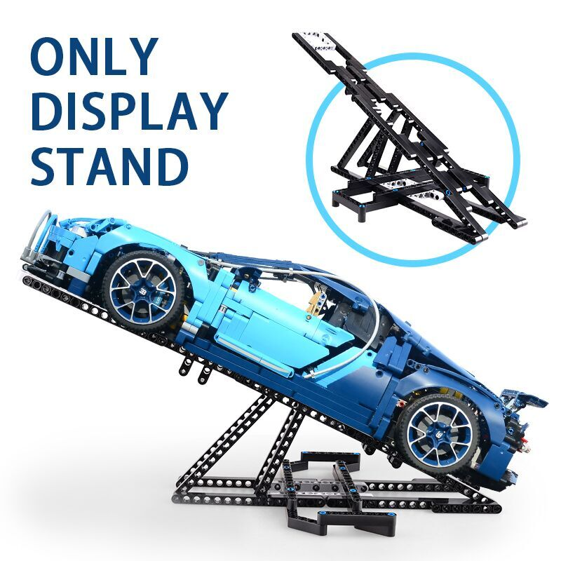 Moc Display Stand for 20001 42056 42083 20087 20001 <font><b>23002</b></font> 20086 Bugatti Chirons Car Building Blocks Brick Toy image