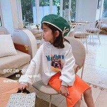 Детская одежда весенний Детский свитер детский тонкий пуловер с длинными рукавами Толстовка с рисунком