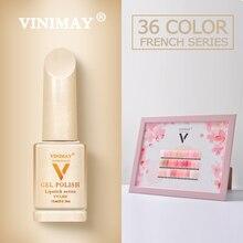 VINIMAY vernis à ongles Gel pour manucure, semi permanent, séchage UV, base, laque