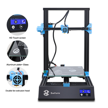 ZANYAPTR 3D Printer ZY-01 PLUS Large size 300*300*400mm 5-Minute-Installation Full Metal High-Precision Printer HD Touch Screen