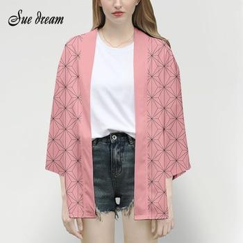 2020 Men And Women Anime Sword Kimono Your Beans Cosplay Costume Cape 3D Kimono Plus Size Coat Halloween Party Coat