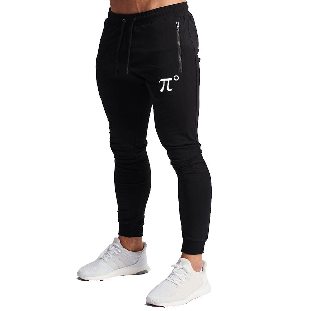PIDOGYM Men's Zipper Pockets Joggers Pants - Casual Gym Workout Track Pants Comfortable Slim Fit Tapered Sweatpants