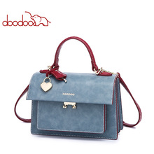 DOODOO2019 New Korean Fashion Organ Handbags Wild Shoulder Slung Women Bag Luxury Bags Designer Flap