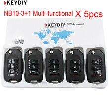 5 יח\חבילה, 4 כפתורים NB10 3 + 1 אוניברסלי רב תפקודי מרחוק מפתח עבור KD900/KD מיני/URG200/KD X2 מפתח Generater