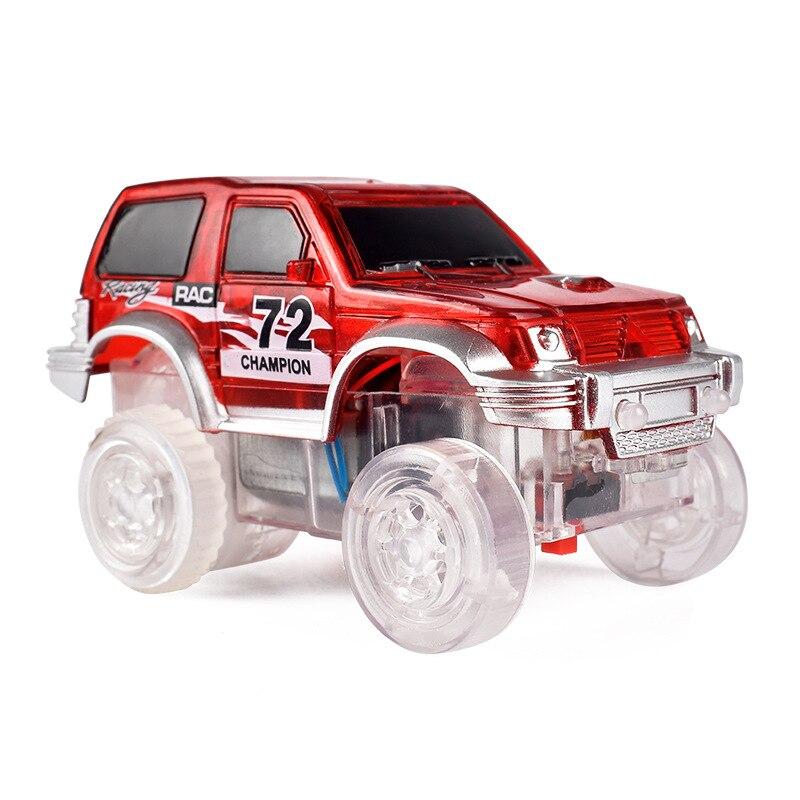 Toy Electric Night Light Camera Track Car Large Size Magic Building Blocks Camera Track 72 Light Car CHILDREN'S Toy