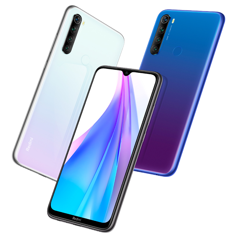 Image 3 - In Stock Global Version Redmi Note 8T 4GB 64G 48MP Camera Cellphone 6.3 Display Snapdragon665 Octa Core 4000mAh 18W Google PayCellphones   -