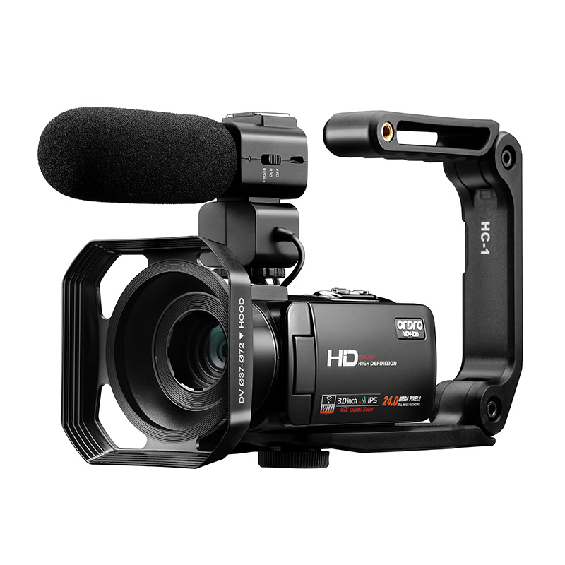 מצלמה דיגיטלית 1080P מלא HD Ordro Z20 IR ראיית לילה Vlog מצלמות מצלמת וידאו עבור blogger Youtube קטעי וידאו ירי