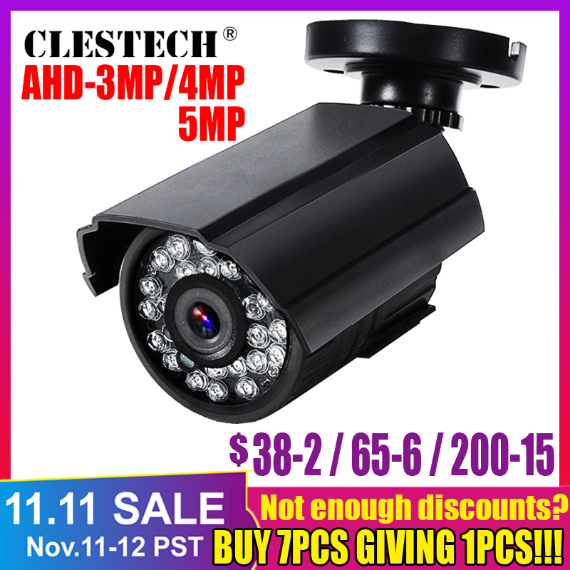 SONY <font><b>IMX326</b></font> CCTV AHD Mini Camera 5MP 4MP 3MP 1080P FULL Digital HD AHDH outdoor Waterproof IP66 IR day night vision have Bullet image