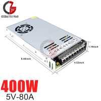 5V 80A 400W Switching Power Supply AC to DC LED Strip Power Source Adapter Transformer LED Power Supply Voltage Regulator