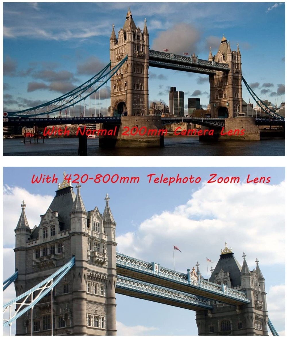 Jintu 420 800 мм f/83 телефото линза для камеры объектив sony