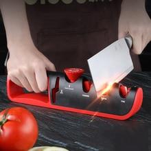 Knife Sharpener Angle Adjustable 4 in 1 Scissors Sharpening stone Professional Kitchen Grinder knives Whetstone Sharpener Tool