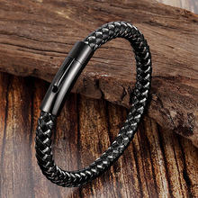 2019 Hot Sale Boys Bangles Bangle Love Bracelet Steel Man Glamour Wire Magnet Pin Europe And The Sell Like Cakes