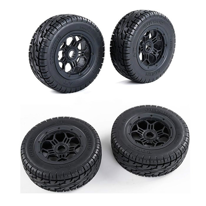 Wheel All Terrain Tire for 1/5 LOSI 5IVE-T ROVAN LT SLT V5 5SC KINGMOTOR X2 TRUCK RC CAR PARTS image