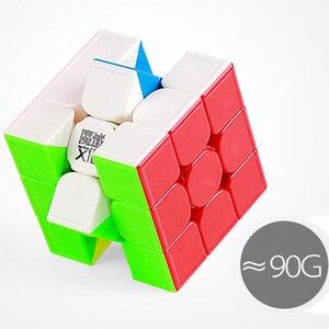 Image 3 - Moyu Weilong GTS 3 M 3x3x3 Magic Cube Magnetic O GTS2 GTS2M di Plastica Puzzle Cubo di Velocità v2 V3 Weilong GTS3M