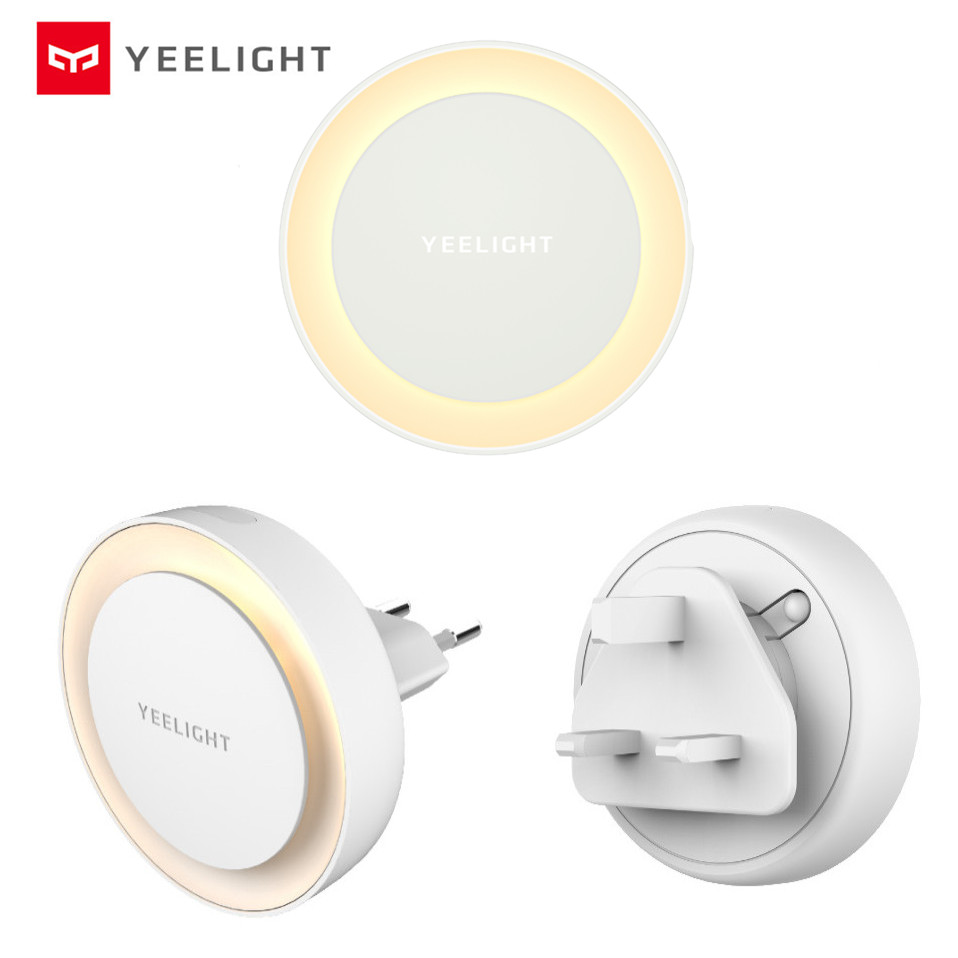 Smart Night Light Yeelight LED Induction Night Light With Photosensitive Sensor For Bedroom Corridor Xiaomi Infrared Night Lamp