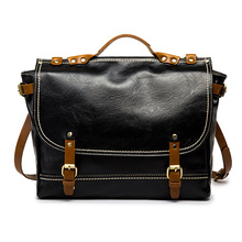 Casual Men PU Briefcase Bag Fashion Waterproof Male Business Shoulder Office Handbag Totes Designer