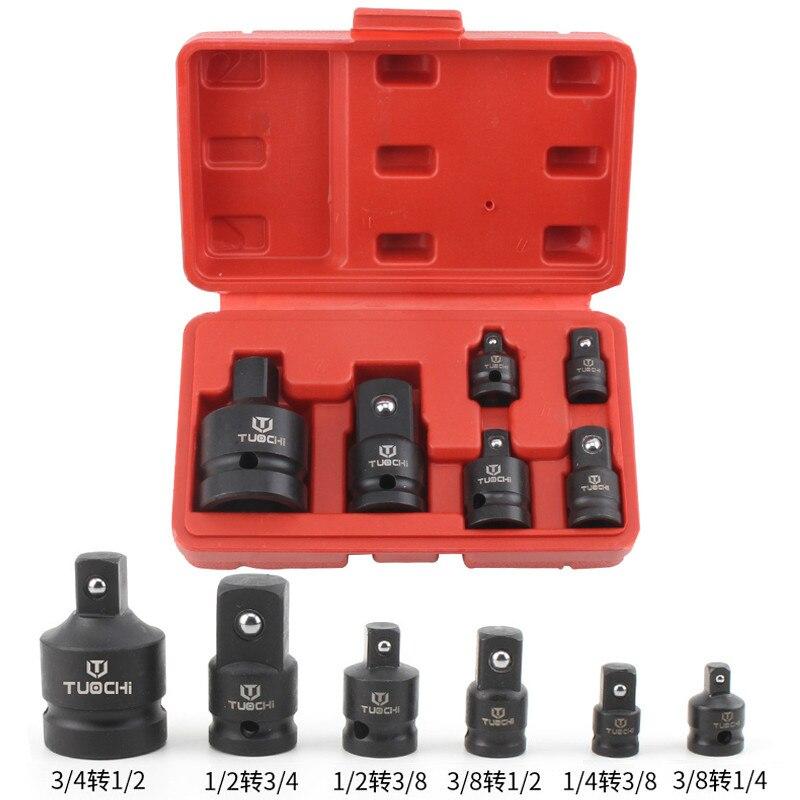 1 jeu adaptateur de prise dimpact 1/2 à 3/8 3/8 à 1/4 3/4 à 1/2 adaptateur de convertisseur de prise réducteur pour voiture vélo Garage outil de réparation