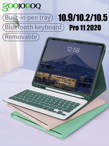Keyboard Case for iPad Pro 10.5 11 2020 iPad Air 3 4 10.9 10.2 2019 Case with Pencil