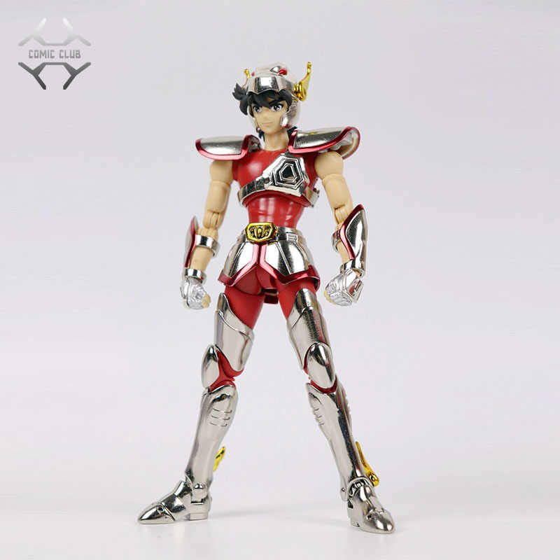COMIC CLUB INSTOCK GreatToys Grandi giocattoli EX bronze Saint casco Pegasus Seiya V1 metal armor Myth Cloth Action Figure