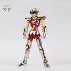 COMIC CLUB INSTOCK GreatToys Grote speelgoed EX brons Saint helm Pegasus Seiya V1 metal armor Mythe Doek Action Figure