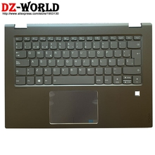 Shell-C-Cover Palmrest Laptop Backlit-Keyboard Yoga Touchpad Flex Spanish Lenovo