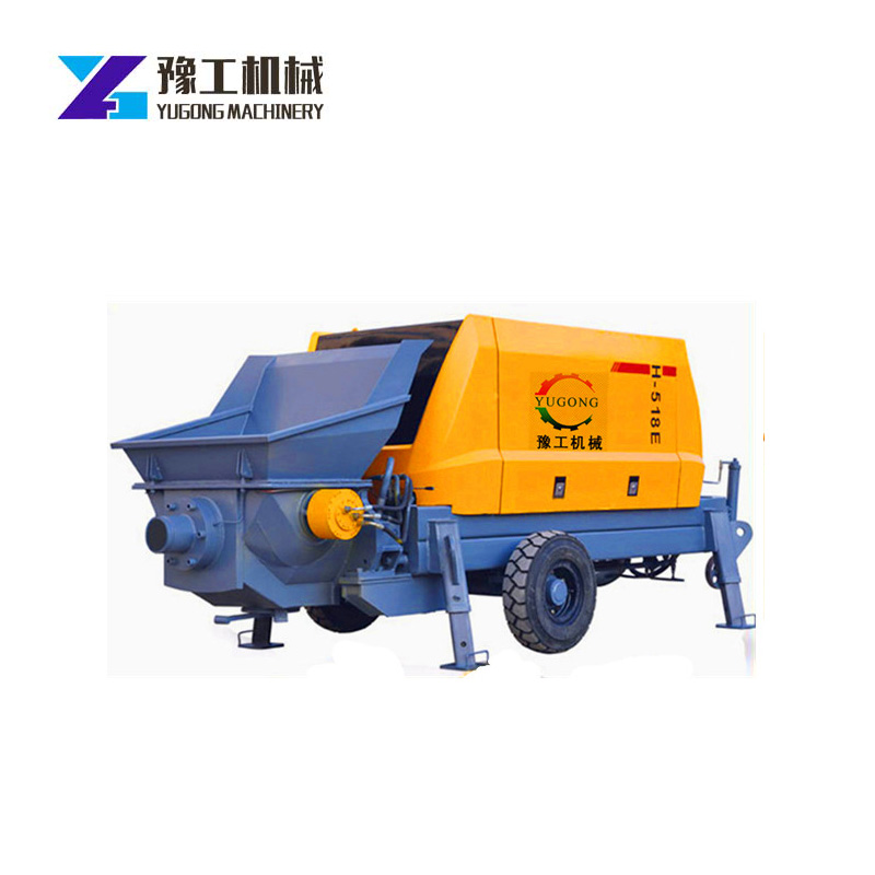 30KW High Power Motor Concrete Pumping Use Construction Mining Demolition Buildings Bridges Engineering Construction