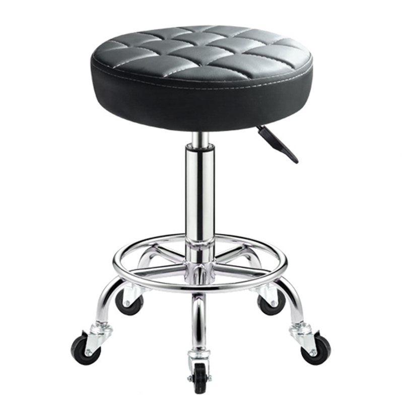 Adjustable Barber Chairs Hydraulic Rolling Swivel Stool Chair Salon Spa Tattoo Facial Massage Salon Furniture
