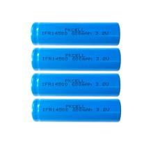 4pcs Pkcell IFR14500 lifepo 배터리 3.2v 600MAH LiFepo4 AA 리튬 이온 충전식 배터리 플랫 탑 손전등 면도기